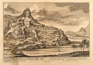 Dinocrates colossus of mount Athos